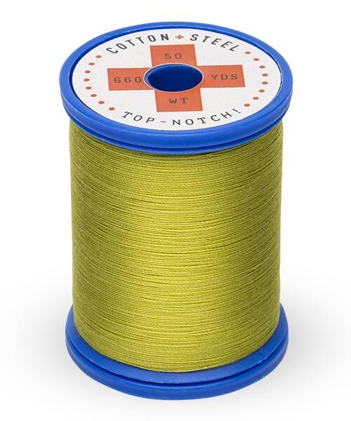 Cotton and Steel Thread by Sulky -  Japanese Green