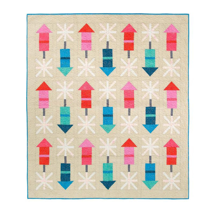 Pen + Paper Patterns - Firecracker Quilt pattern