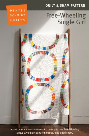 Free-wheeling Single Girl quilt pattern
