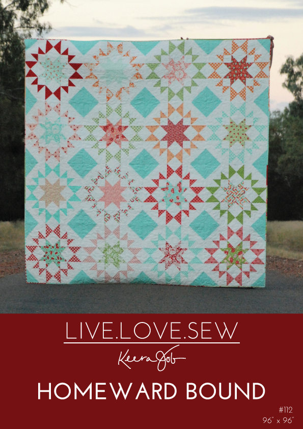 Live.Love.Sew - Homeward Bound quilt pattern
