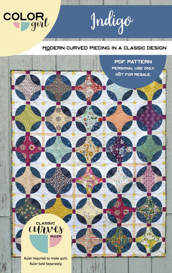Indigo - pattern by Color Girl Quilts