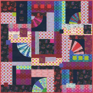 Anna Maria's Conservatory - Portraits - Long Distance Quilt  - PDF pattern
