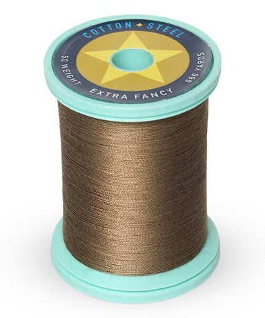 Cotton and Steel Thread by Sulky - Medium Taupe