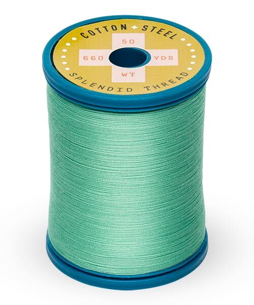Cotton and Steel Thread by Sulky - Mint Julep