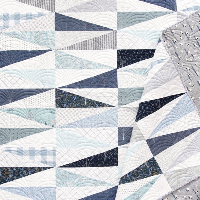 Pen + Paper Patterns - Mod Diamond quilt pattern