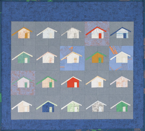 Carolyn Friedlander Outhouse quilt  pattern
