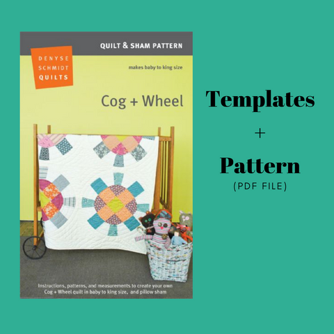 Cog + Wheel -  Pattern and Template set
