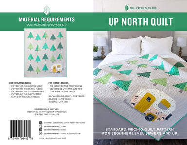 Pen + Paper Patterns - Up North quilt pattern