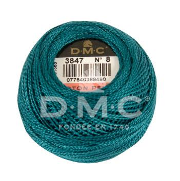 DMC Perle 8 thread - 3847 - Dark Teal - The Next Stitch