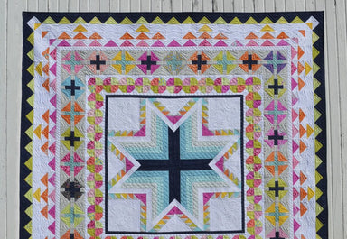 A Pixie Medallion- quilt pattern by Color Girl Quilts