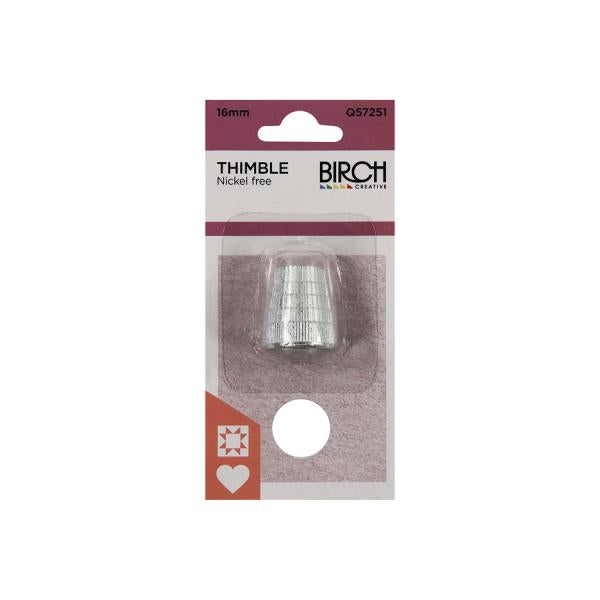 Thimble - nickle free- size 15mm (small)