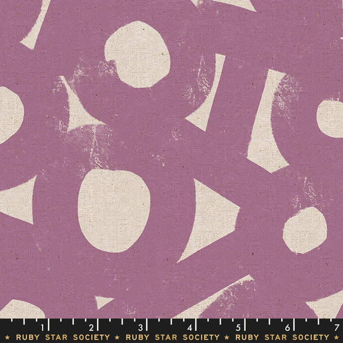 Ruby Star Society - 2019 Linens - River Rocks in amethyst - The Next Stitch