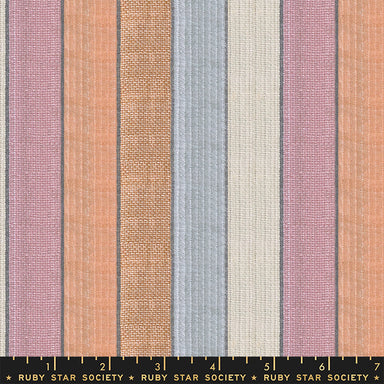 Ruby Star Society - Warp and Weft- Jubilee stripe in sprinkles END OF BOLT