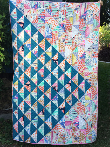 Straighten Up and Fly Right  - quilt kit in Cotton and Steel