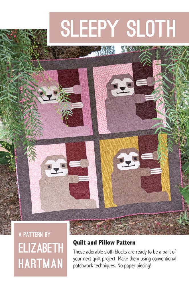 Sleepy Sloth - Quilt pattern by Elizabeth Hartman