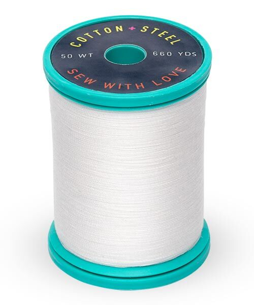 Cotton and Steel Thread by Sulky - Bright White