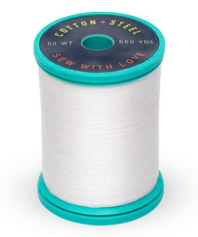 Cotton and Steel Thread by Sulky - Soft White