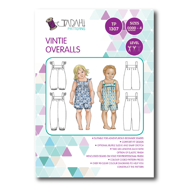 Tadah Patterns - Vintie Overall