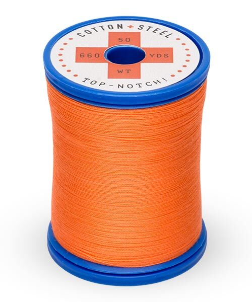 Cotton and Steel Thread by Sulky - Tangerine