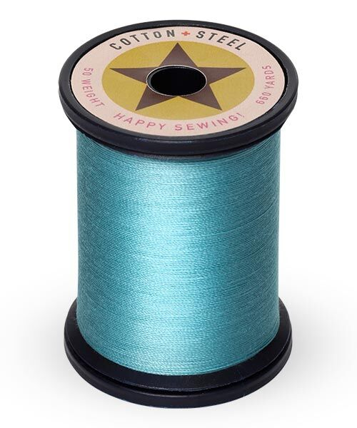 Cotton and Steel Thread by Sulky - Turquoise