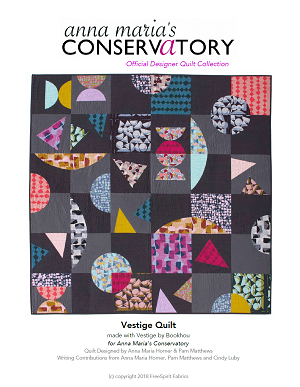 Vestige Quilt Pattern - PDF download