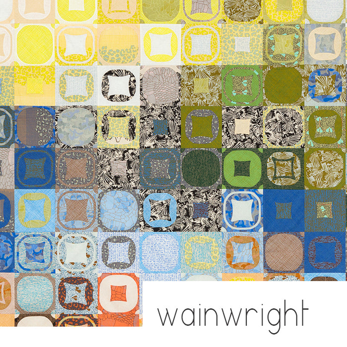 Wainwright Quilt - pattern by Carolyn Friedlander
