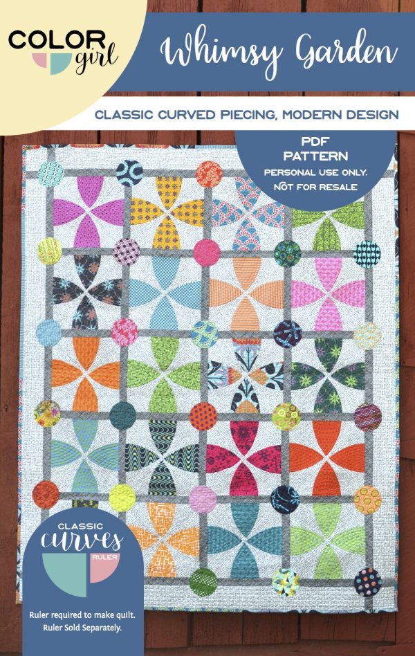 Whimsy Garden - pattern by Color Girl Quilts