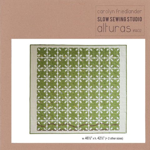 Carolyn Friedlander Alturas quilt pattern