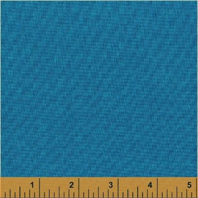 Artisan Shot Cotton - 40171-35 Aqua/dark blue