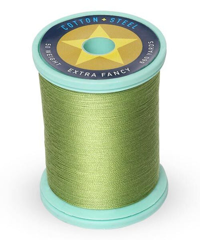 Cotton and Steel Thread by Sulky - Avocado