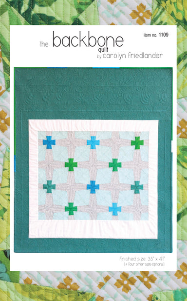 Carolyn Friedlander - Backbone quilt  pattern