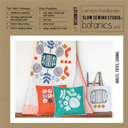 Carolyn Friedlander - Botanics Quilt & Tote bag pattern