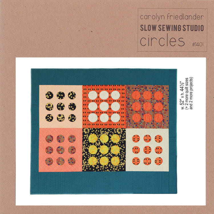 Carolyn Friedlander - Circles quilt  pattern