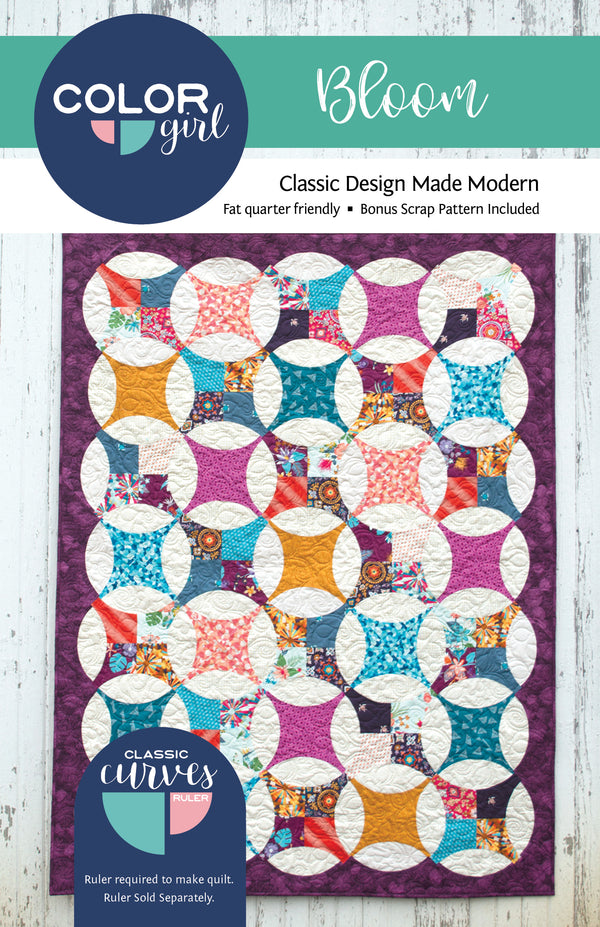 Color Girl Quilts - Bloom Quilt Pattern