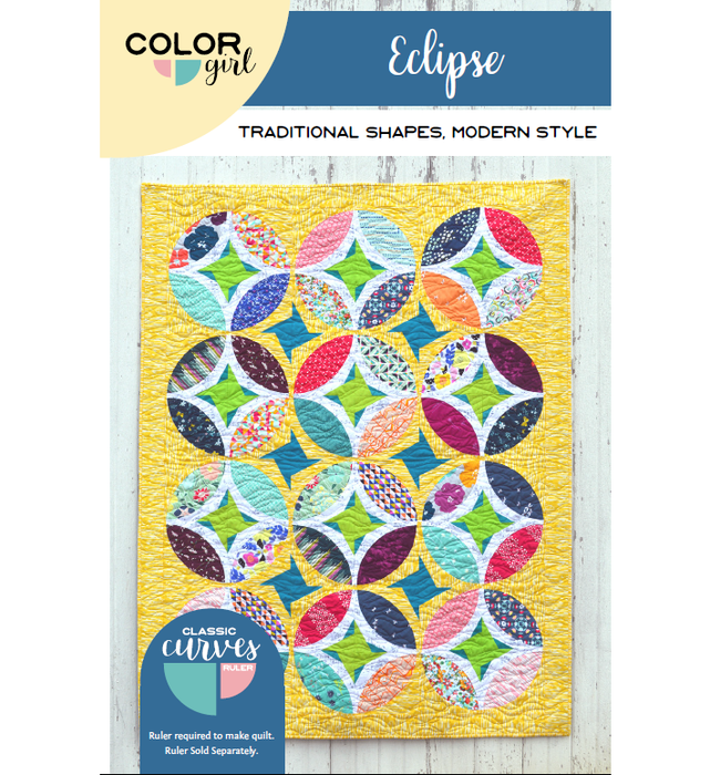 Color Girl Quilts - Eclipse Quilt Pattern