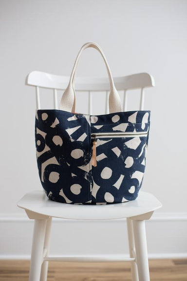 Noodlehead - Crescent Tote bag pattern