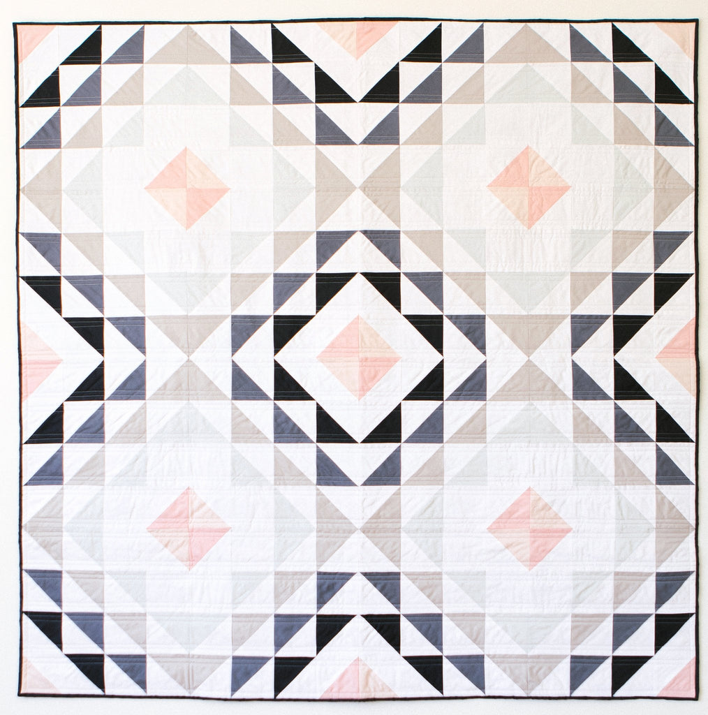Diamond Ripples Quilt pattern
