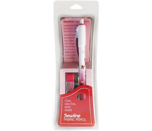 Sewline Fabric Mechanical Pencil - Pink lead