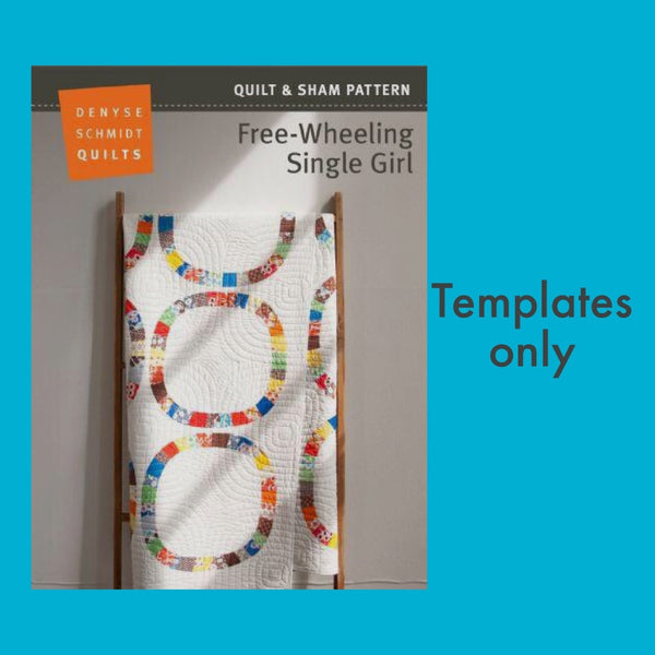 Free-wheeling Single Girl - Template set