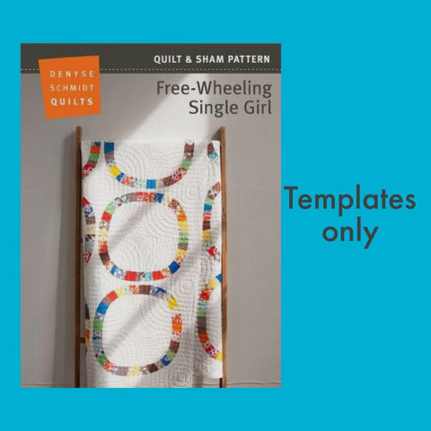 Free-wheeling Single Girl - Template set PRE-ORDER
