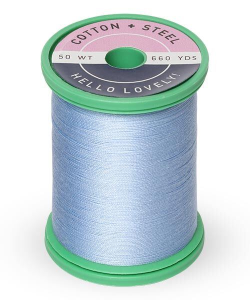 Cotton and Steel Thread by Sulky -  Heron Blue