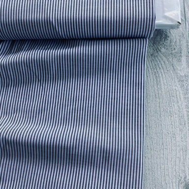 Japanese woven stripe - in grey