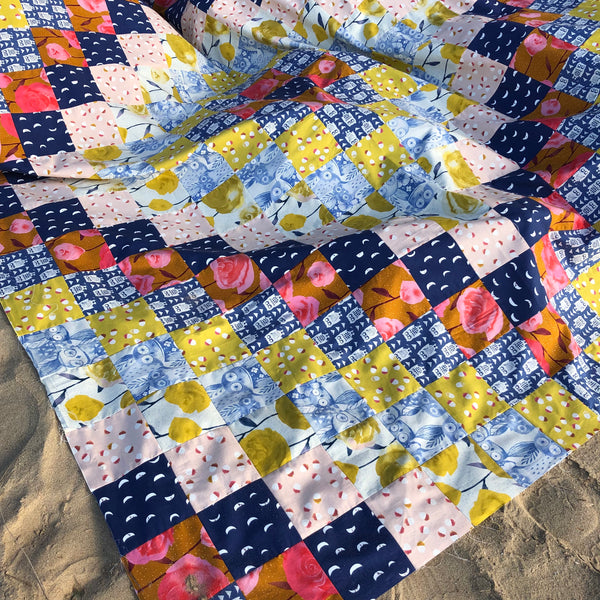 The Next Stitch - Quick Trip Quilt - digital pattern