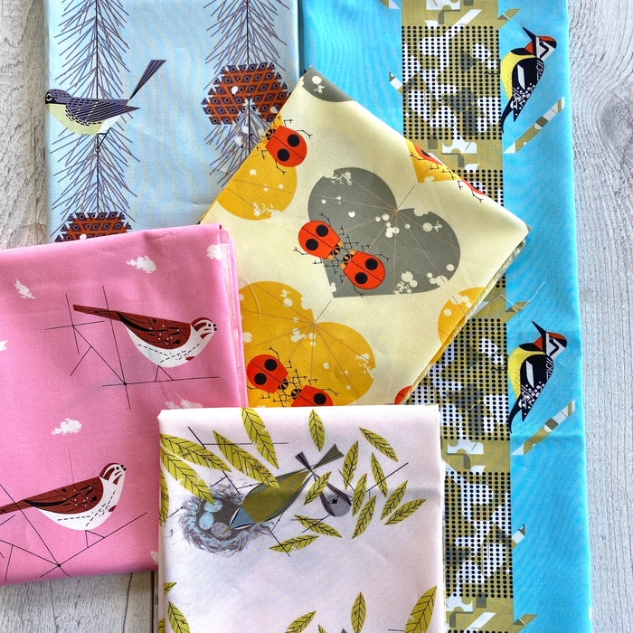 Birch Fabrics - Charley Harper mini bundle