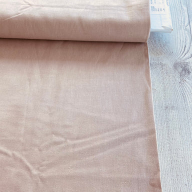 Japanese Cotton/Linen Canvas - dusty pink