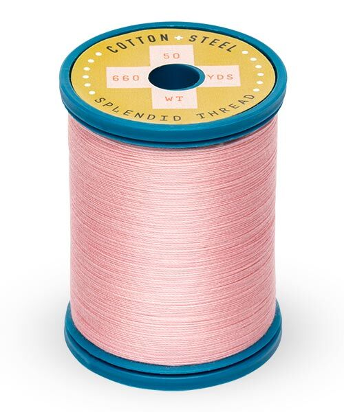 Cotton and Steel Thread by Sulky - Light Pink