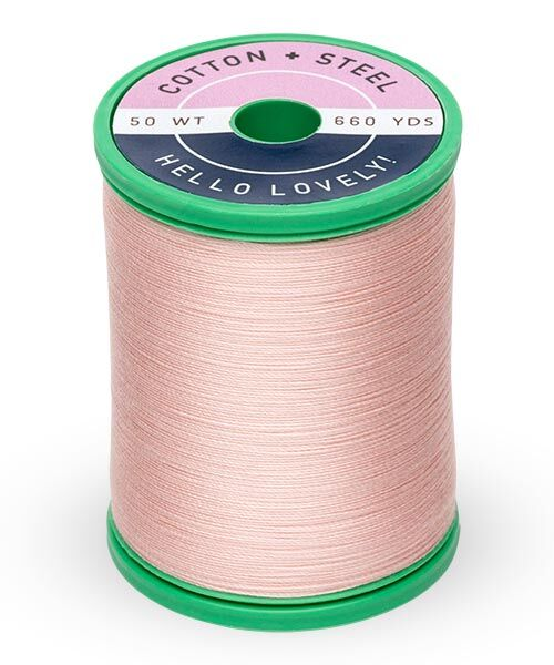 Cotton and Steel Thread by Sulky - Medium Peach