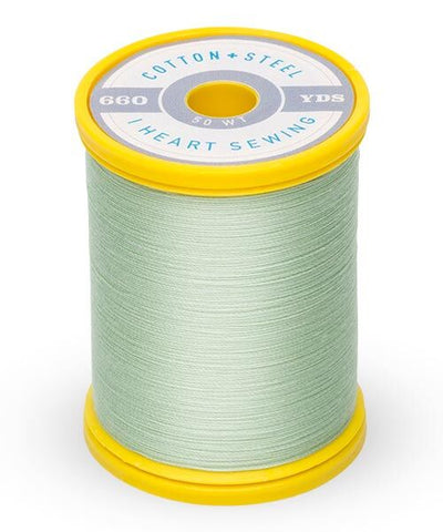 Cotton and Steel Thread by Sulky -  Mint Green