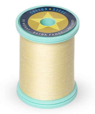 Cotton and Steel Thread by Sulky - Pale Yellow