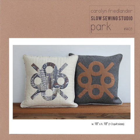 Carolyn Friedlander - Park quilt and pillow sham pattern